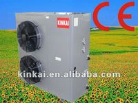 Air power Commercial Integrated high efficient but low cost Air to air water double Source Floor heating heater solar Heat Pump