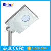 Hot sale 8W integrated solar pv led street light with mono solar panel
