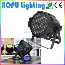 High power 54x3w led par 64 light led dj par can stage light
