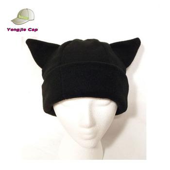 Negro Gato Oído Sombrero Del Invierno Polar Esquí Snowboard Anime ...
