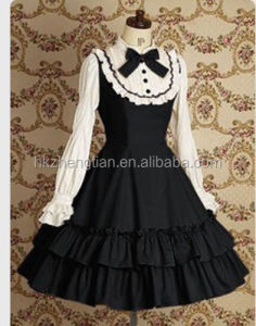 Ecoparty Lolita Princess Vintage Style Party Formal Dress Cosplay Costume Dress Customize