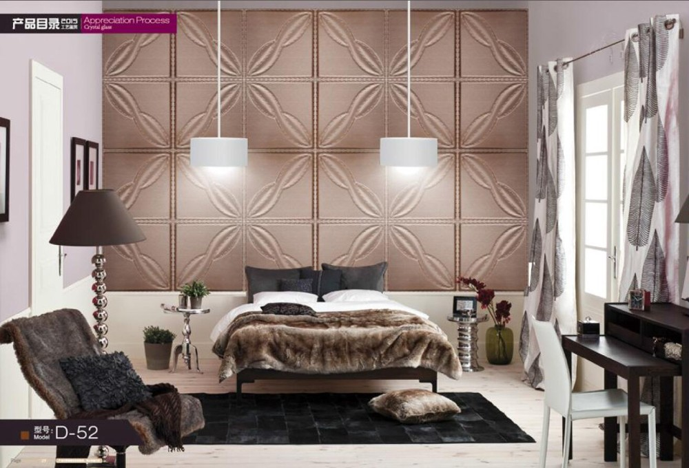Luxury Living Room Show Pieces For Home Decoration Pvc Wall Panel