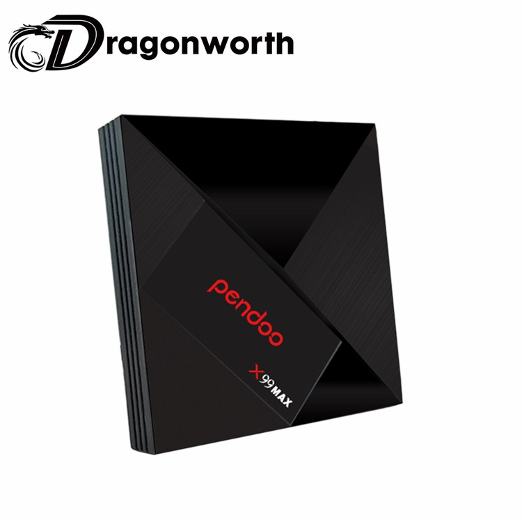 H96 MAX X2 | Amlogic S905X2 RAM 4GB ROM 64GB Dual-Band Wi-Fi BT Android 8.1 UHD TV BOX