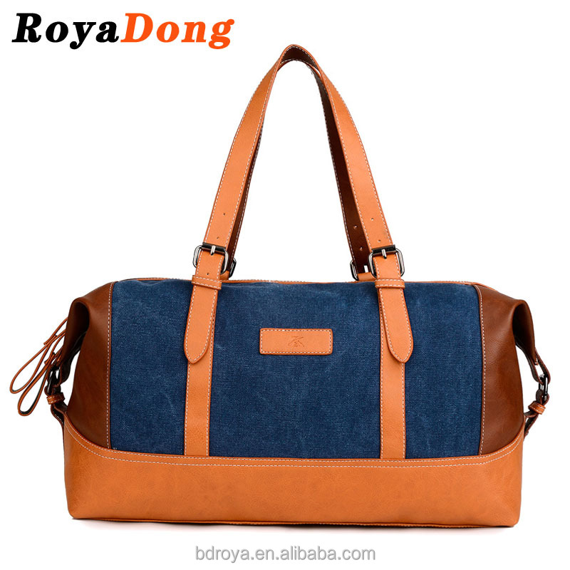 Royadong 2017 New Occidental Style Retro Trend High-capacity Fashion Women Canvas <strong>Shoulders</strong>