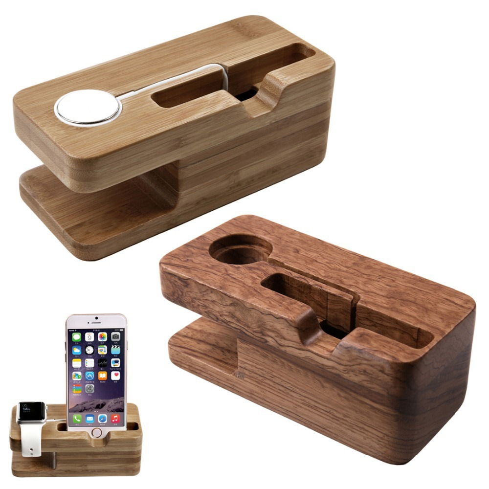 IPS-Z03 Special Docking Station Phones 38mm & 42mm Stock Cradle Holder for Apple Watch & iPhone