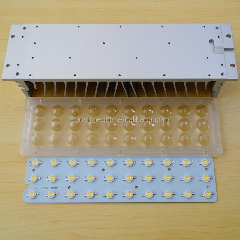 90w 120w 150w Led High Bay Light 90 Degree Pc Lens Module