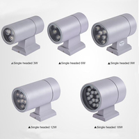 Cylinder outdoor wall light LED single-head wall lamp outdoor waterproof IP65 light 3W 6W 9W 12W 18W