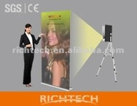 Pro version Advertising display stand/ roll up banner poster board with different size