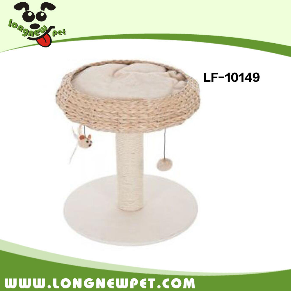 Cat Scratching Toy Sisal Scratching Post Cat Tree Bed