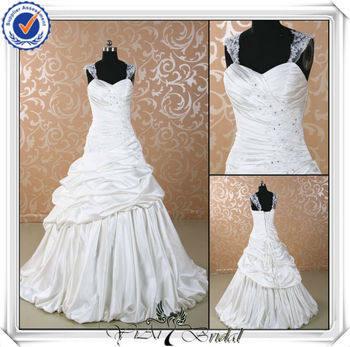 Jj0050 Ball Gown Satin Removable Straps Exotic Wedding Dresses