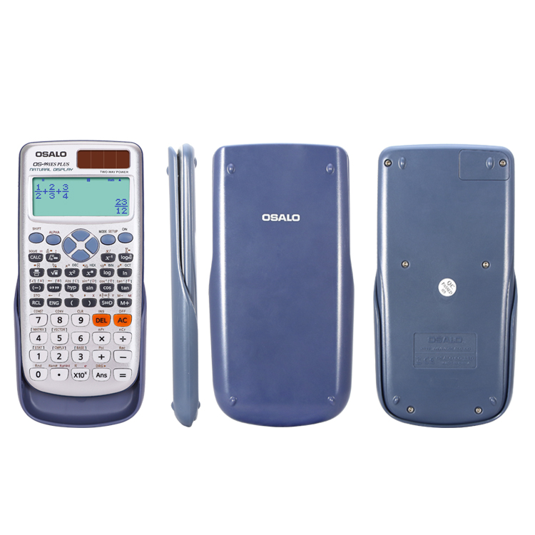 991ESPLUS  417 function two way power natural display student calculator scientific