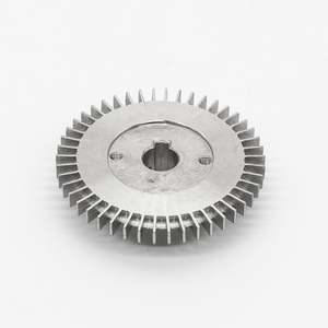 Manufacturer stainless steel material cnc machining pump impeller