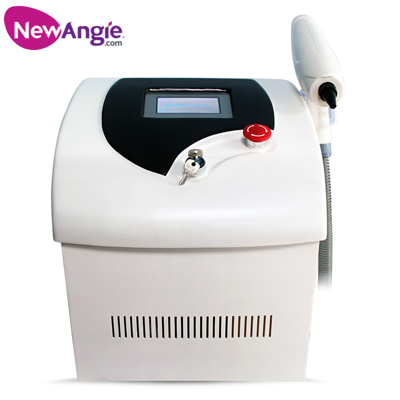 Portable best selling q switched 1064 nm 532 nm nd yag laser tattoo removal machine