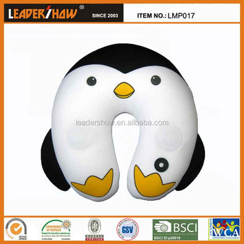 Penguin Shape Vibrating Massage Animal Neck Pillow - Buy Massage Pillow,Neck Pillow,Microbeads ...