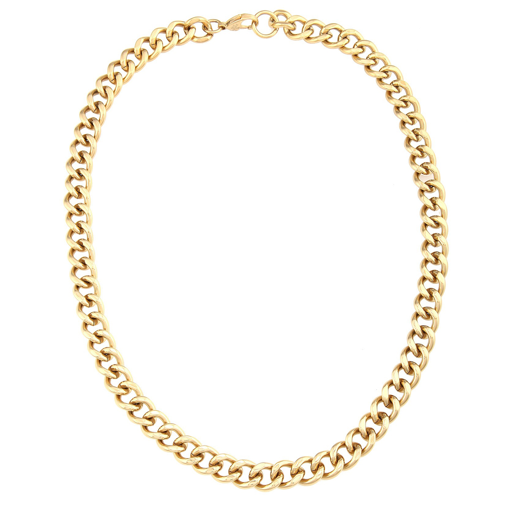 pvd ebay sizes neck bonded mm woman s itm necklace herringbone chain men new chains gold