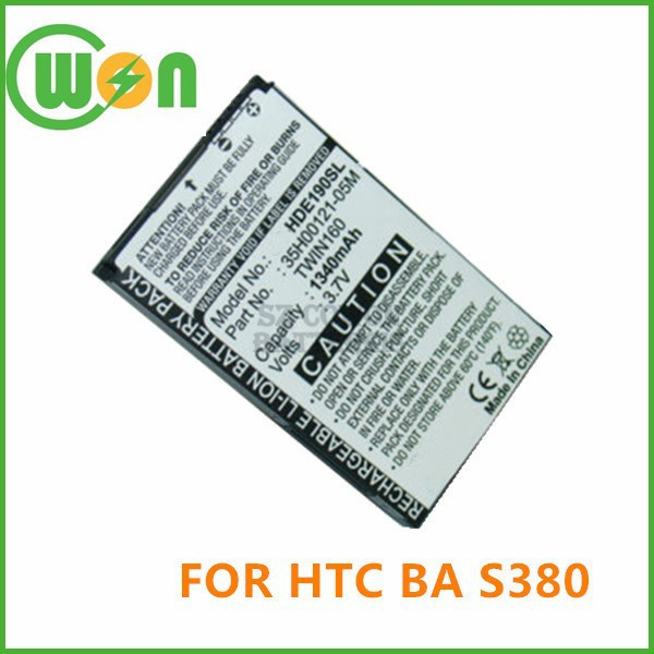 35H00121-05M PDA Battery For HTC Hero 100 130 A6262, Battery for Dopod A6288