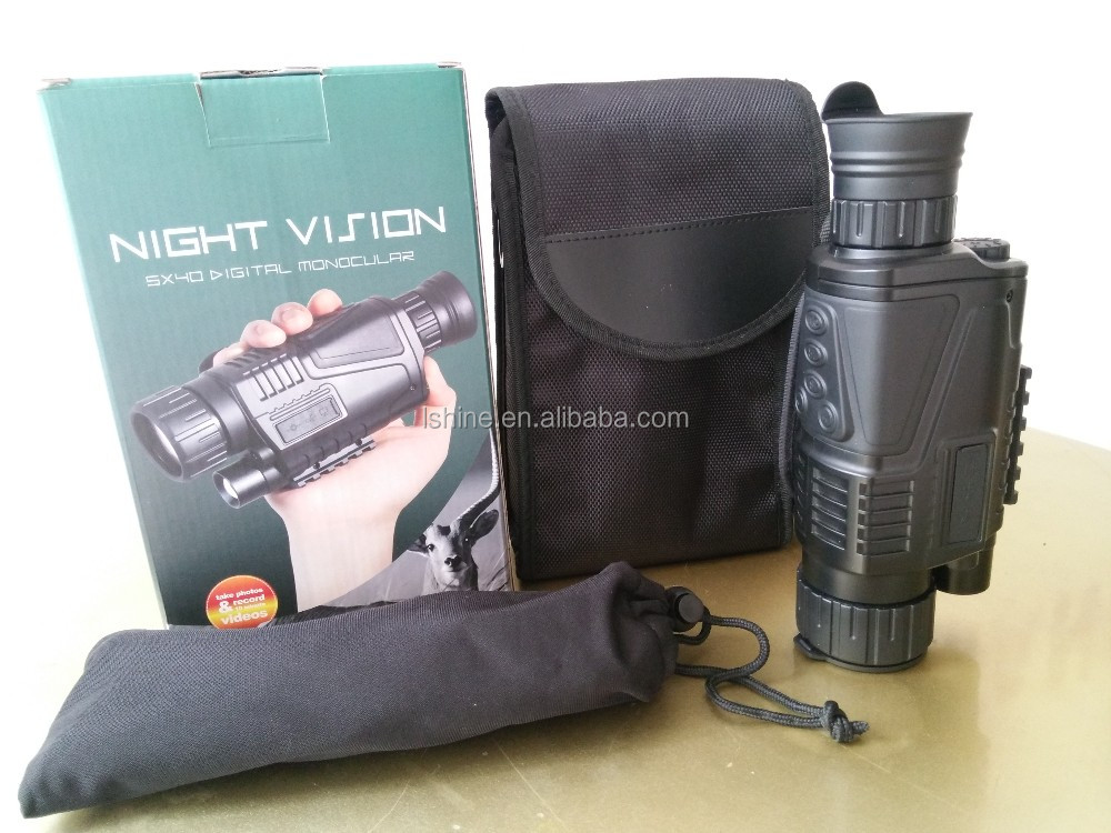recordable night vision telescope military scope