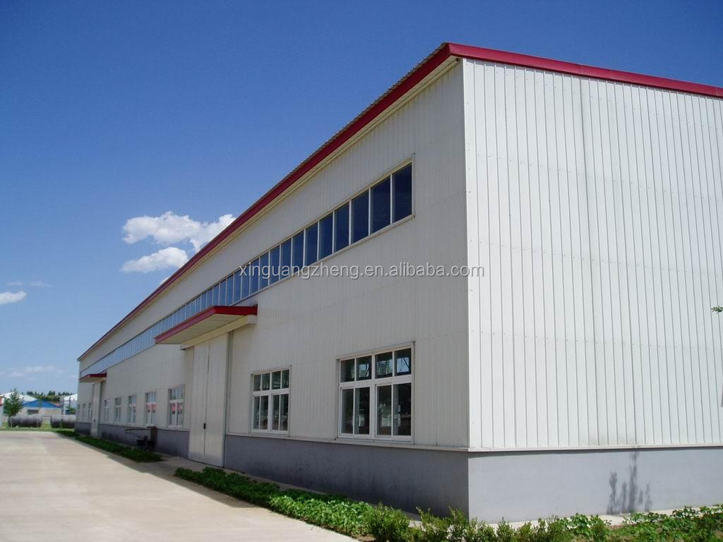 Three storeys steel structure factory/workshop