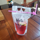 Clear Juice Disposable Beverage Bags Foldable Drinking Plastic Water Pouch