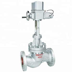 Motorized industrial remote 3-way mechanical water level ac control valve