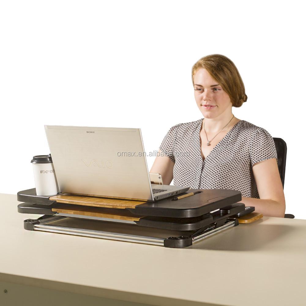 Folding Einstellbare Große Laptop Computer Tisch Steh Schreibtisch Für  Monitor Und Imac