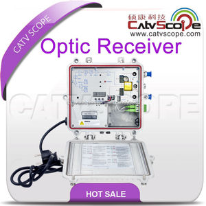 2 Way Output CATV Fiber Optical Receiver/ Node with return path
