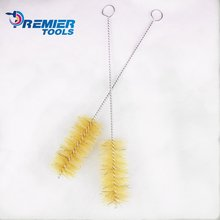 Factory supply bristle clean brush tube twisted steel wire with better price and quality