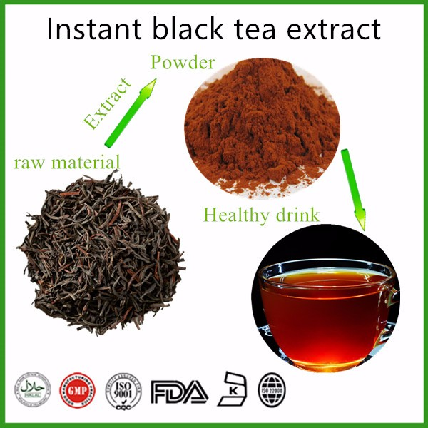 Organic instant black tea extract powder instant black tea powder - 4uTea | 4uTea.com