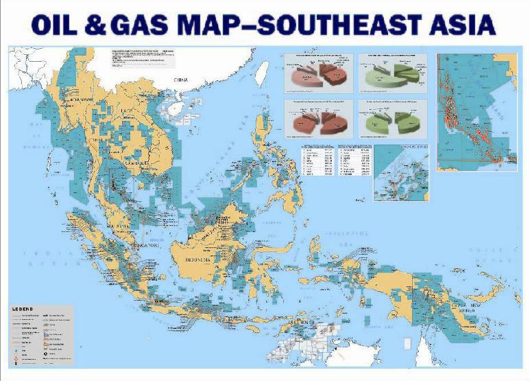 Southeast Asia Öl Gas& Karte - Buy Karte Öl Gas Petrochemie Product on  Alibaba.com