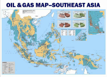 Complete Map Of Asia.Southeast Asia Oil Gas Map Buy Map Oil Gas Petrochemical