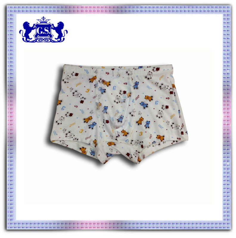 hot selling stock wholesale latest design cheap child boxer brief