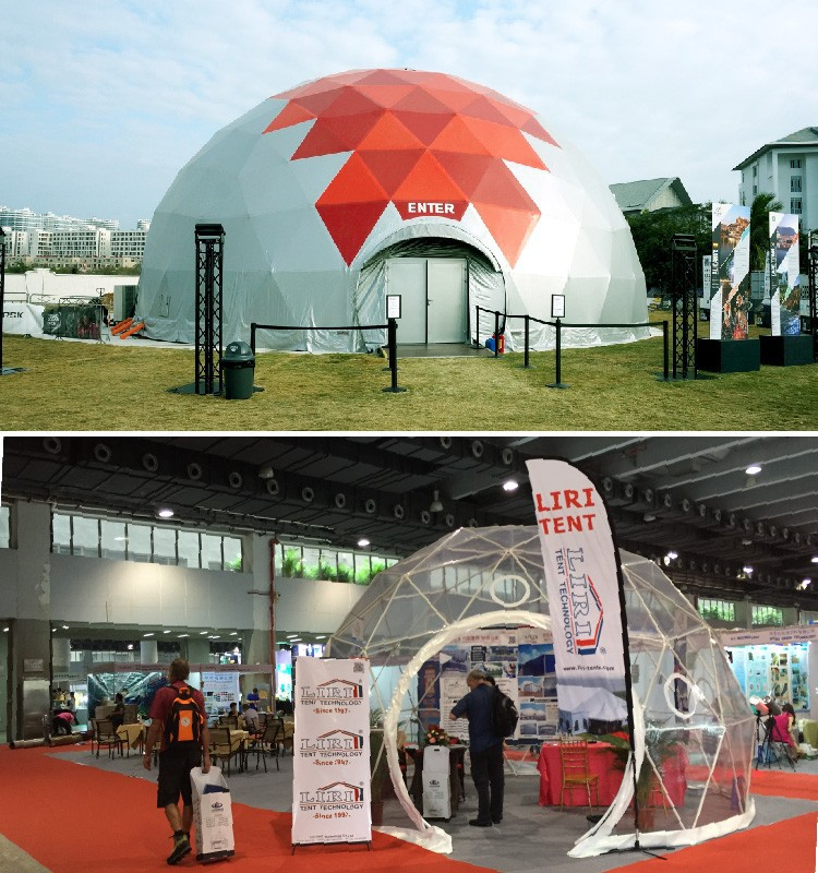 Special Outdoor Aluminium Geo Dome Tent for Events & Special Outdoor Aluminium Geo Dome Tent for Events View geo dome ...