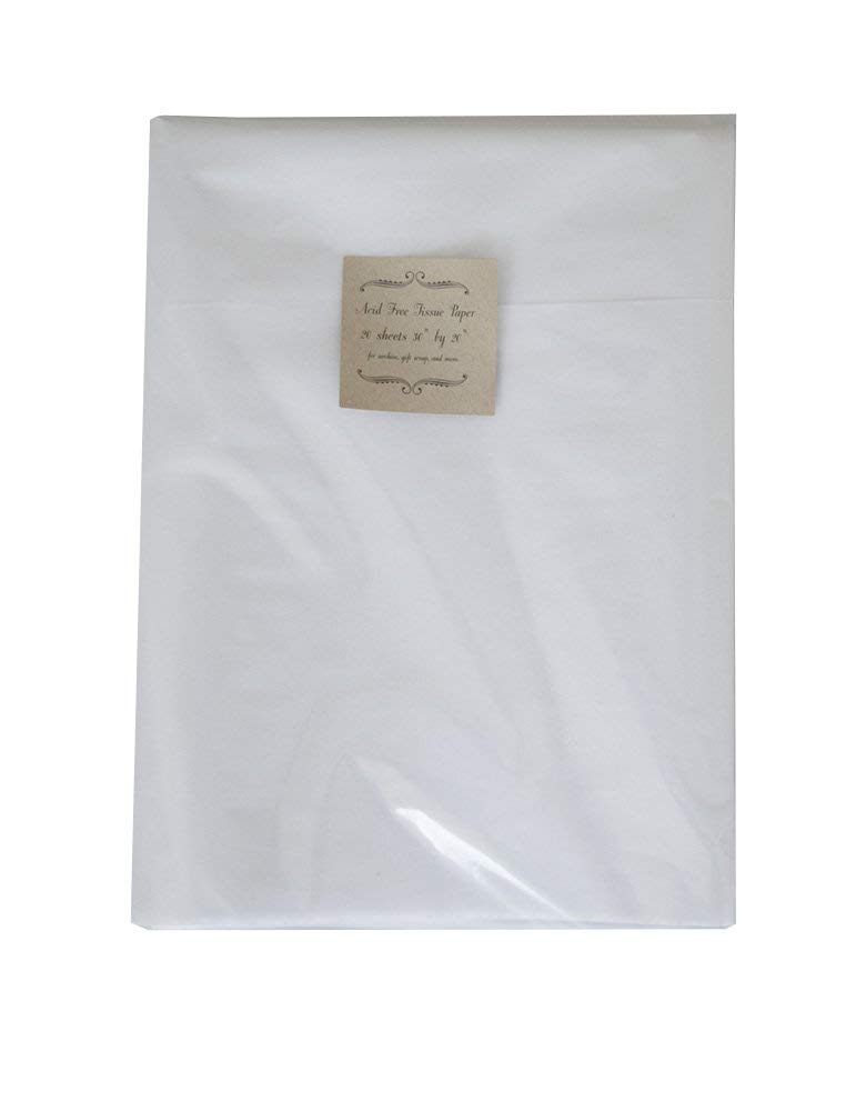 "Acid Free Tissue Paper Archival Grade 15""x20"" 60 Sheets"