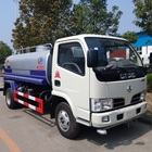 dongfeng 5000 liter water bowser sprinkler tank truck with water spray system