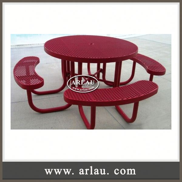 Arlau Antique Furniture Outdoor,Cast Iron Table And Chair,Outdoor Tables Metal
