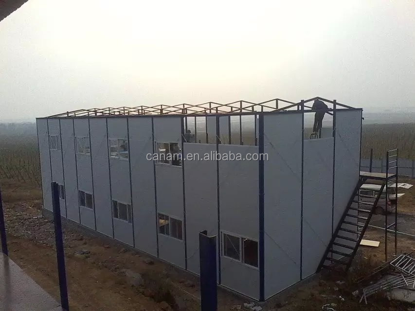 Movable Portable Shelter Sandwich Panel Apartment