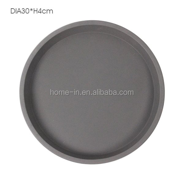2017 Waterproof Round cement storage tray for food / fruit /Jewelry