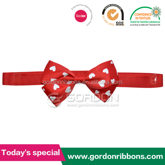 Red Satin Ribbon Bow / Good Quality Packing Bow for Wedding Decoration