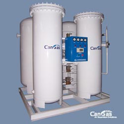 Nitrogen gas station plant for oil and gas application