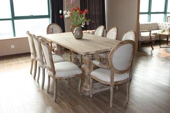 Tavolo In Legno E Sedie.Antichi Mobili Sala Da Pranzo In Legno Massello Di Rovere Tavoli Da