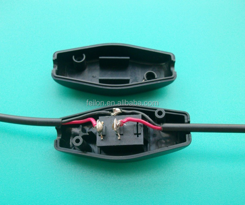 250V lamp cord with inline switch 301 power cord inline switch