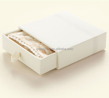 Elegant Empty Garment Packaging Paper T-shirt Gift Box For Scarf