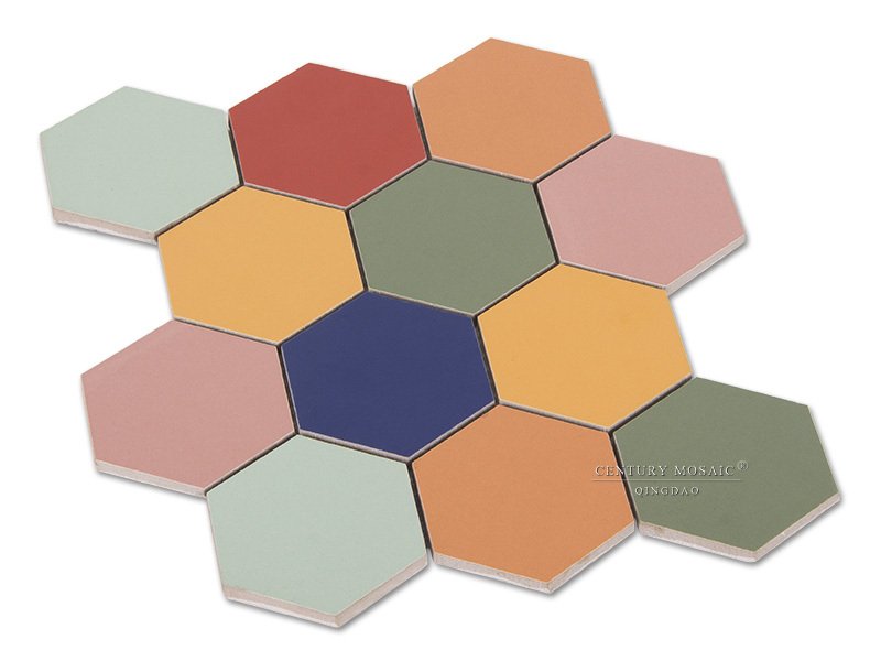 how to change color of ceramic tiles