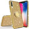 Luxury Phone Case For Samsung A10 A20 A30 A40 A50 A60 A70 Soft TPU Cover With Ring Stand Case For Samsung A50
