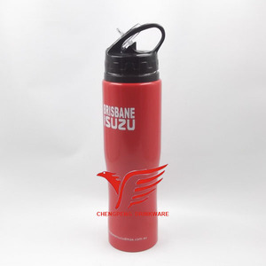 high quality 750ml new shape big capacity single drink wall red bull sport water bottle