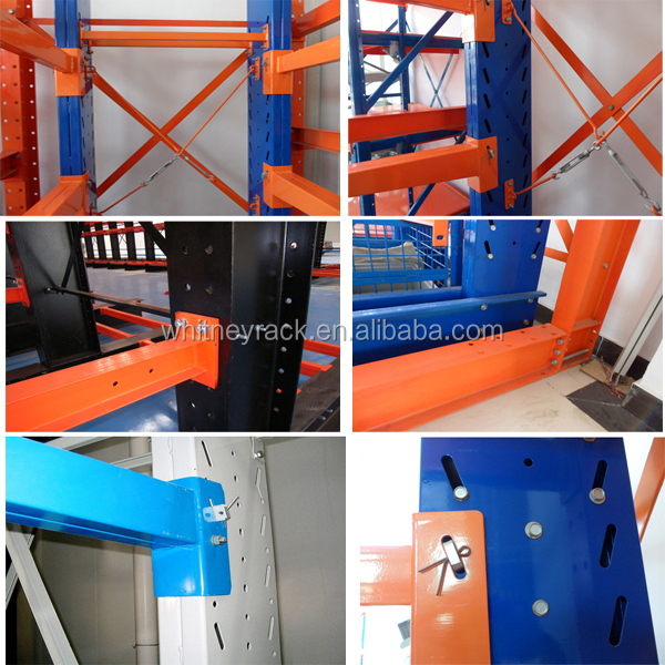 Used Car Warehouse: Warehouse Used Steel Storage Cantilever Rack Salvage Car