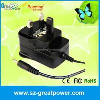unique shape guitar type 12v500ma power supply power adapter made in china energy saving