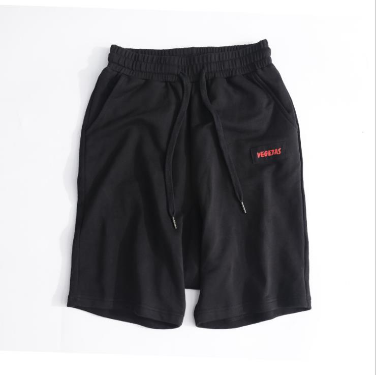 Summer men's cotton casual simple sports shorts