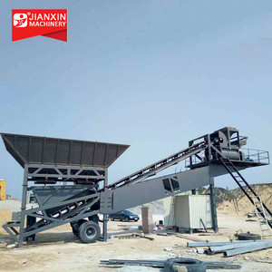 High Efficiency Portable Concrete Batching Plant With Factory Price
