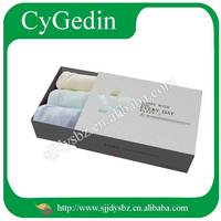 Custom Logo Printed White Clothes Packaging Boxes Manufacture